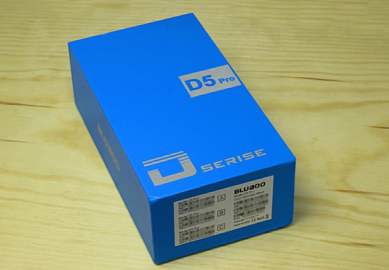 Обзор смартфона - Bluboo D5 Pro