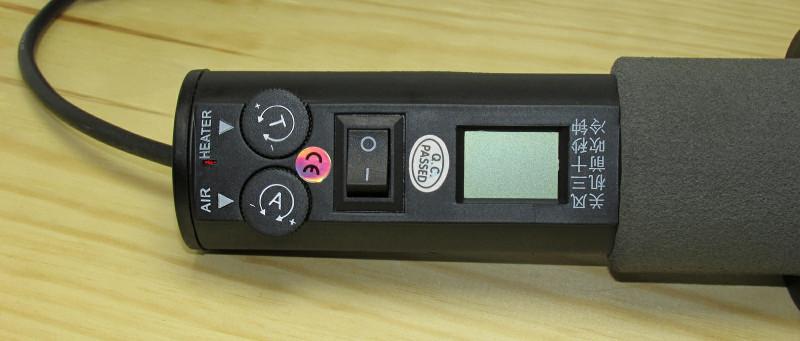 Обзор термофена 8018LCD