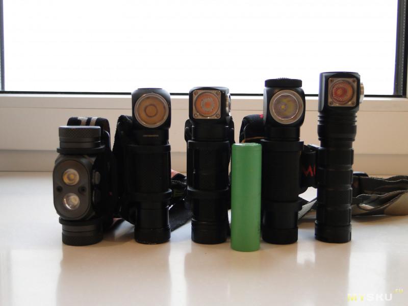 Налобный фонарь Wowtac A2