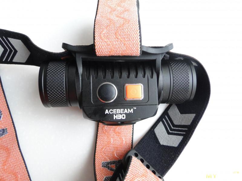 Налобный фонарь Acebeam H30