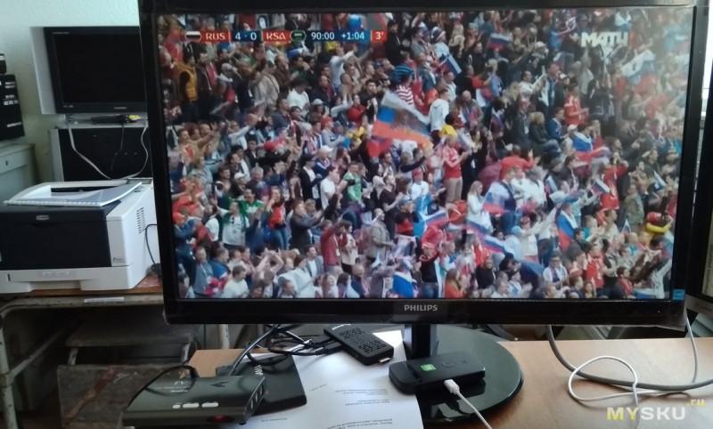 DVB-T2 тюнер c vga выходом (который может превратить любой монитор в телевизор!)