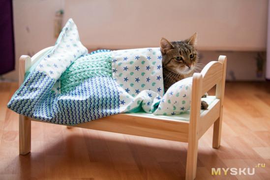 Кошкин дом! (в полном смысле этого слова;)
