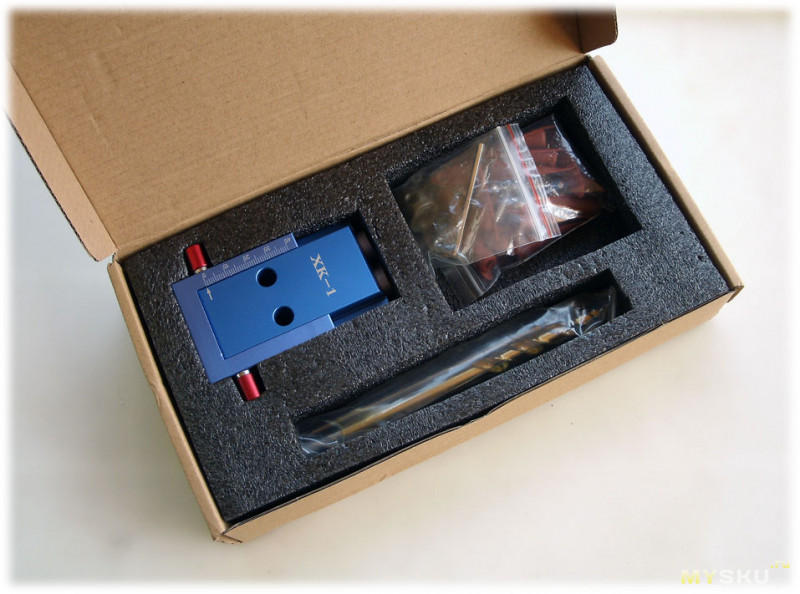 Приспособление для скрытого соединения элементов конструкций саморезами под углом (KREG)