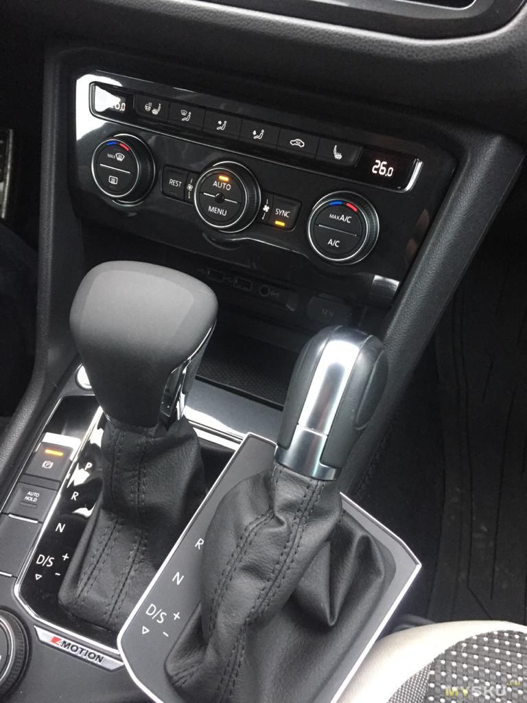 Замена рукоятки переключения передач VW Tiguan (и еще пары моделей), на вариант, предназначенный для азиатского рынка