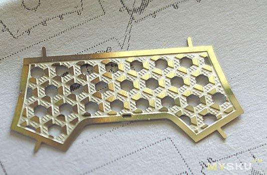 Китайский воин- DIY 3D конструктор из фольги