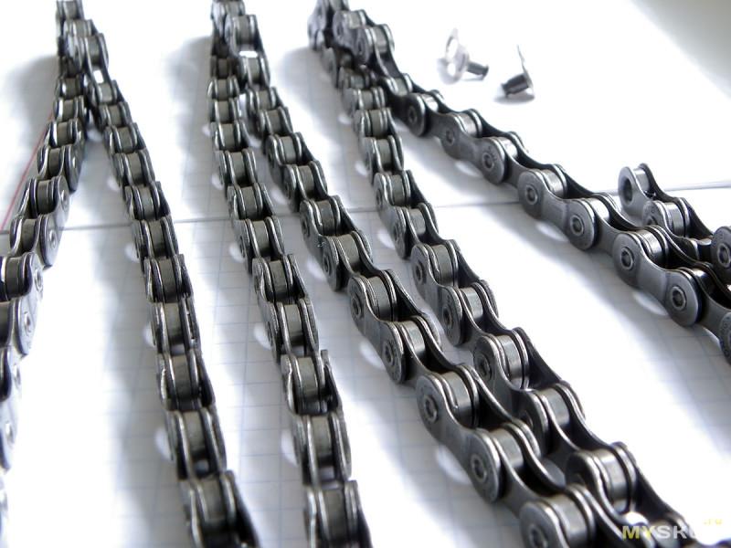 """Цепь для велосипеда """"HG73"""" на 9 скоростей 116 звеньев aka SHIMANO Deore LX 105 ALS88"""