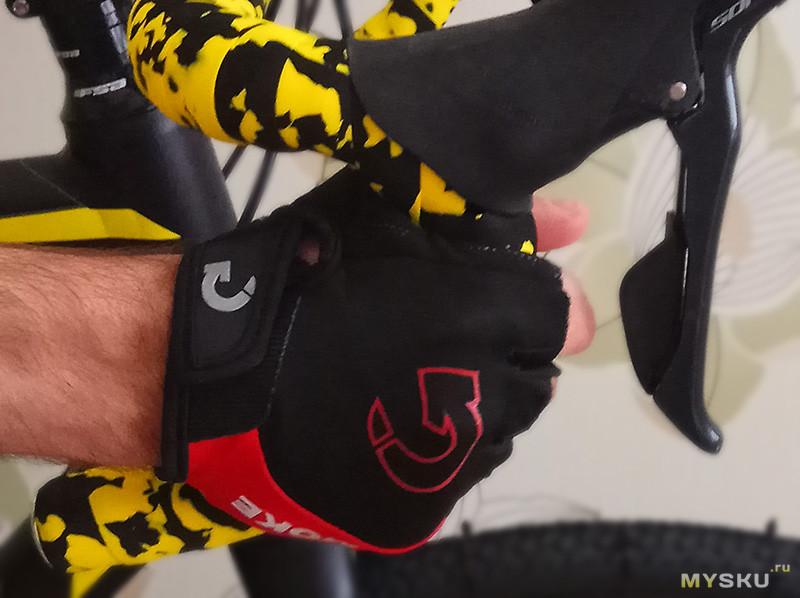 Очередные перчатки на лето для велика
