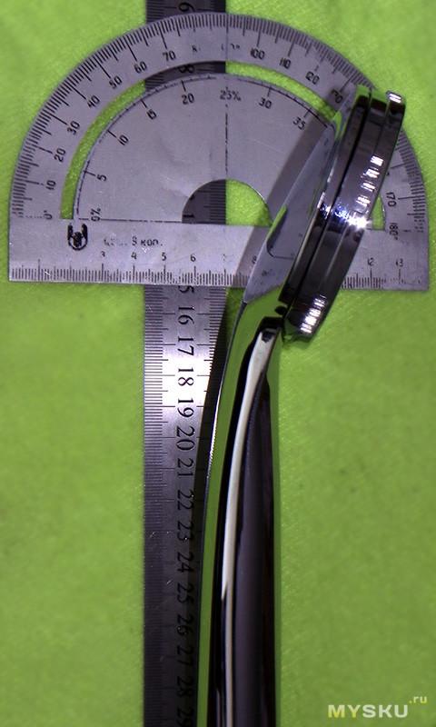 Головка (лейка) для душа диаметром 80мм с тонкими струйками.