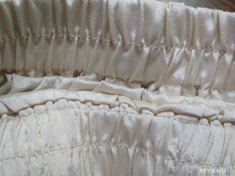 Воздушная длинная юбка