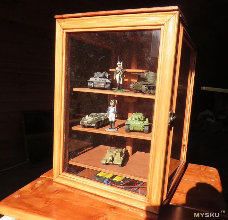 Универсальная витрина DIY