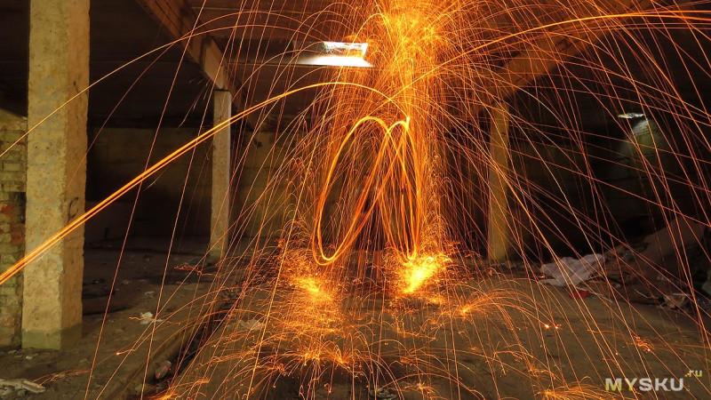 Огненное шоу на даче DIY. Зажигаем по полной
