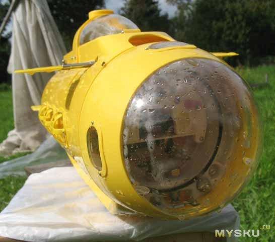 Yellow submarine собираем, запускаем