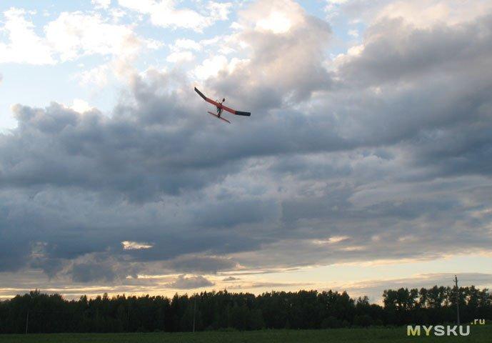 Полет Феникса 80. Моторизация метательного планера