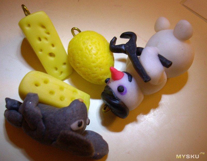 МОДЕЛИН - ВЕЧНЫЙ ПЛАСТИЛИН. Лепим новогодние игрушки  и не только
