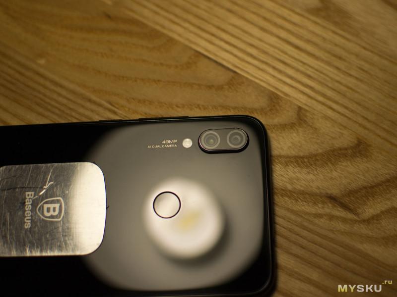 Новое стекло объектива для Redmi Note 7. Прогреть, подковырнуть, пригладить.