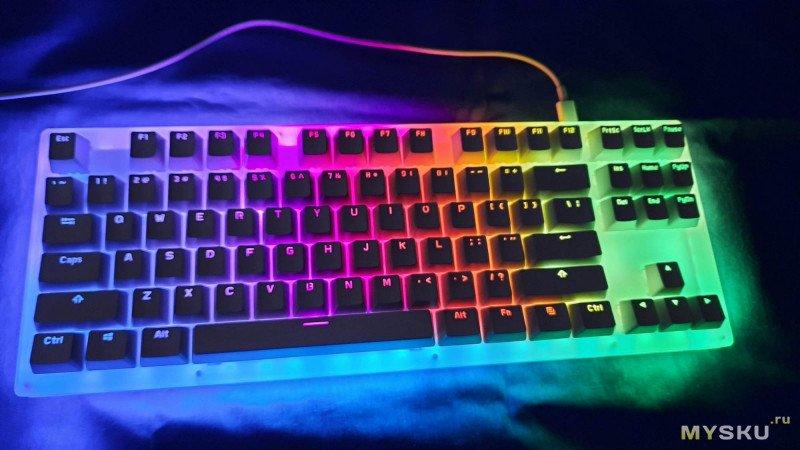 Механическая клавиатура GamaKay K87