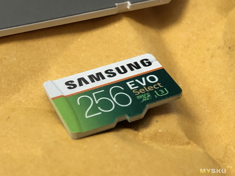 Карта памяти SAMSUNG microSDXC UHS-I card 256GB EVO Select