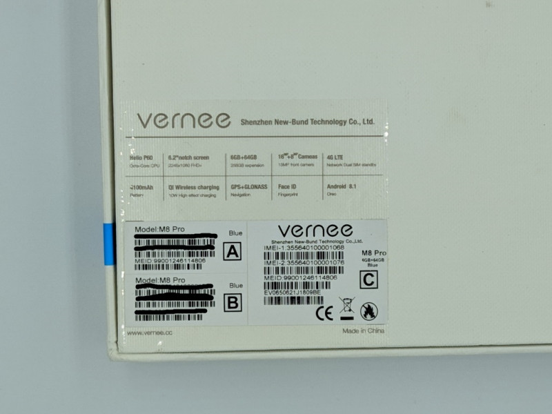 """Смартфон Vernee M8 Pro 6/64Гб - """"полуфлагман"""" с рабочим размытием заднего фона!"""