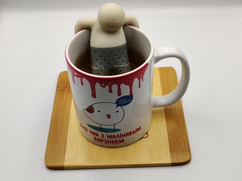 я кипяченый крепкий чай