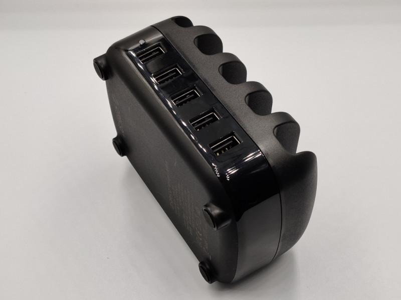 Зарядная док-станция Orico с 5-ю портами USB и подставкой под гаджеты