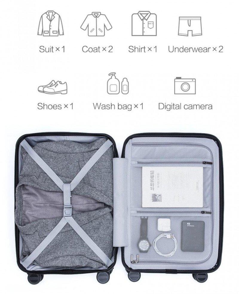 "Рюкзак 10л и чемодан 20"" от Xiaomi"