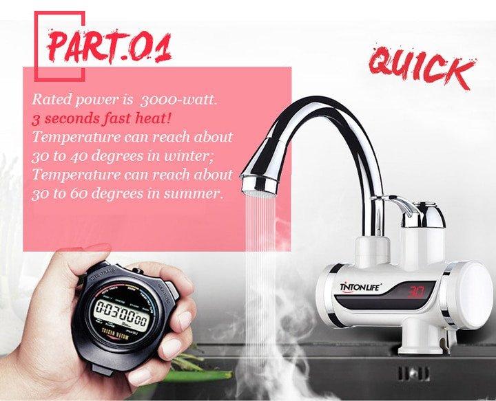 Электрический проточный водонагреватель за 1050 рублей из РФ