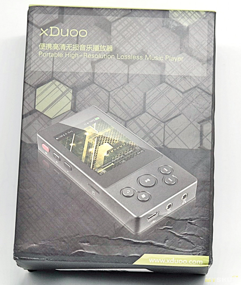 HiFi плеер XDUOO X3II. Обзор, разборка, прошивка на Rockbox.