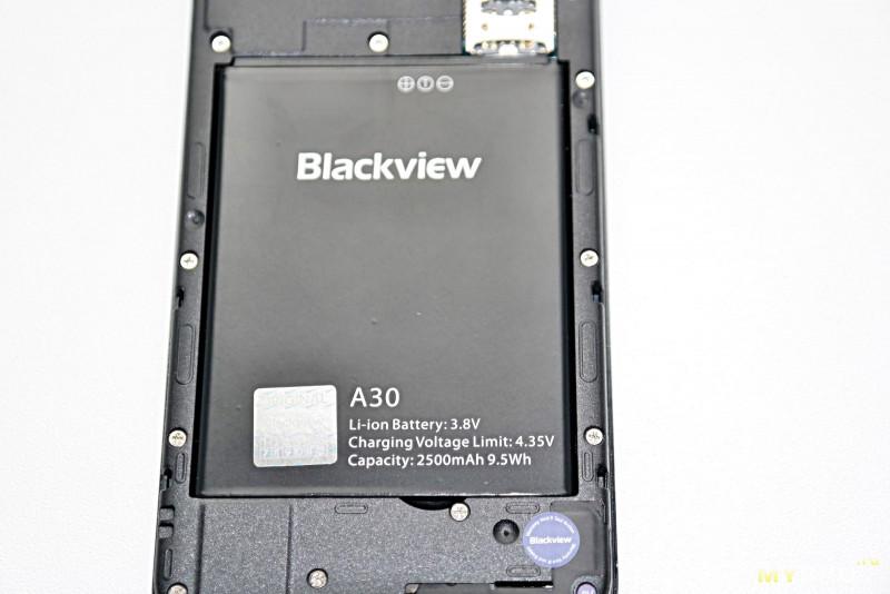 Симпатичный бюджетный смартфон Blackview A30 с функцией FaceUnlock в полной темноте и в очках!