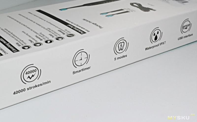 Не слабая звуковая зубная щетка Alfawise SG-949 за 10.99$