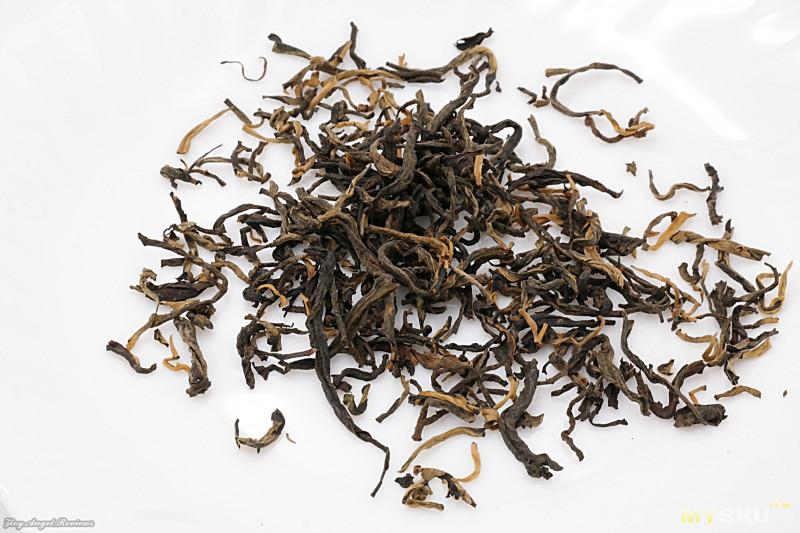 Красный чай Дянь Хун Маофен. Вкусный, наш, родной)