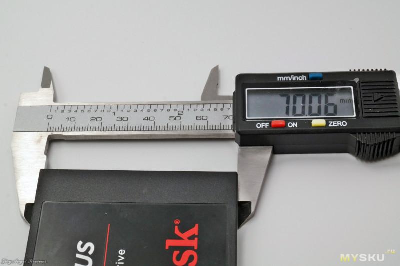 Усиленный твердотельный накопитель Sandisk на 480ГБ