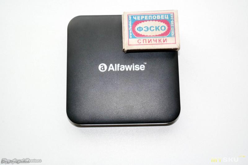 ТВ бокс Alfawise Z1 с голосовым управлением