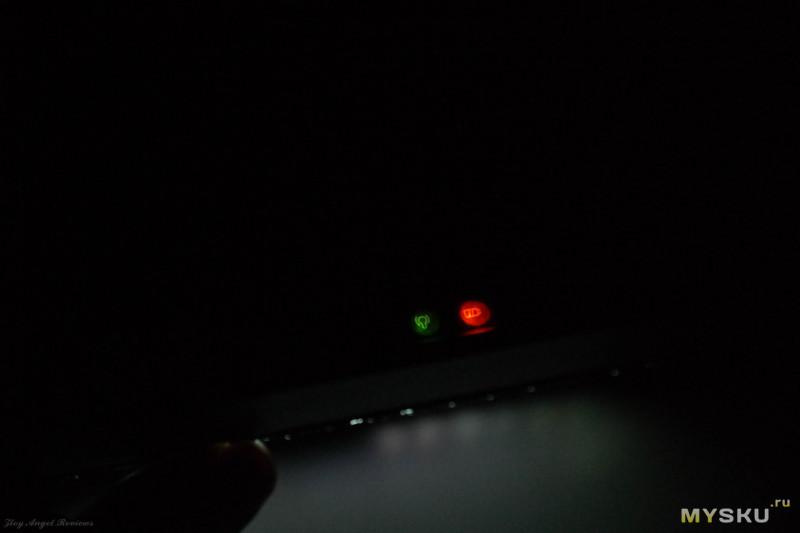 Миниклавиатура 2,4ГГц D8, с полноценной русско-английской раскладкой, тачпадом и цветной подсветкой.