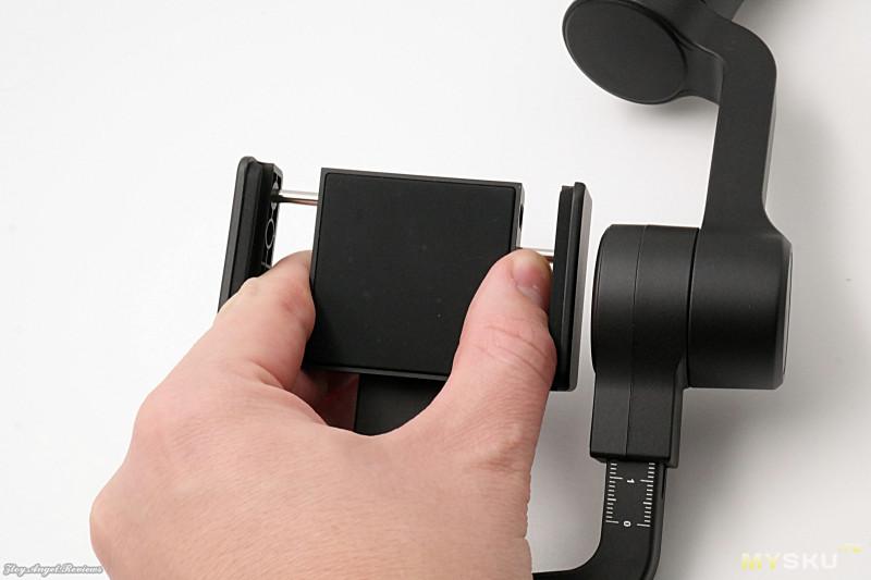 Известный 3-х осевой стабилизатор для смартфона FeiyuTech Vimble 2