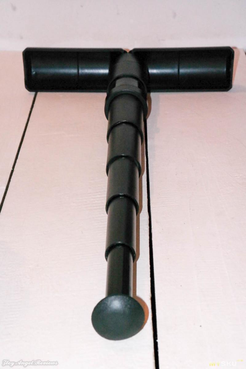 Телескопический одноногий стул-подпорка.