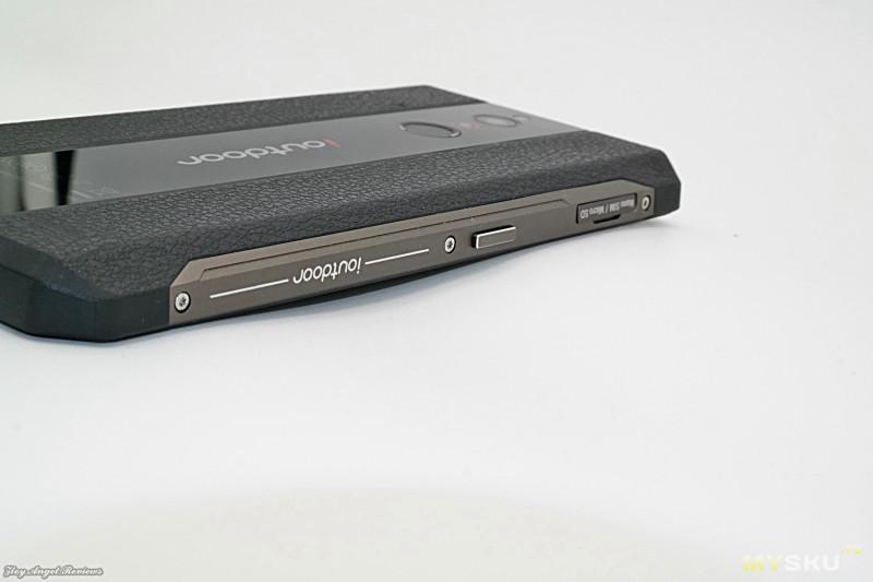 Тонкий защищенный смартфон Ioutdoor X