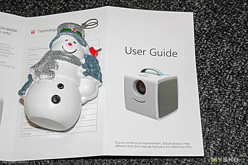 Детский мини-проектор Excelvan Q2. С новым годом, друзья!