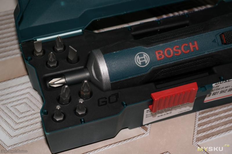 Электроотвертка Bosch Go!!! Просто Вещь!