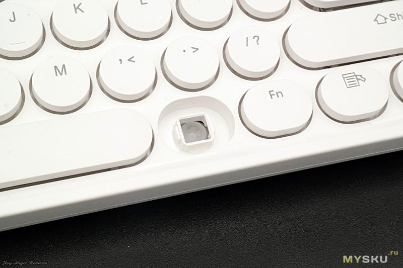 Тихий беспроводной ретро набор клавиатура и мышь Ajazz 335i