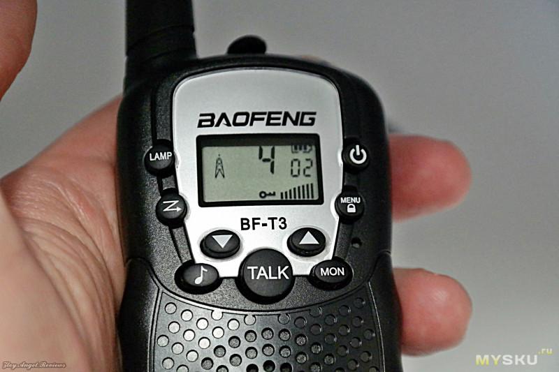 Набор детских раций Baofeng BF - T3