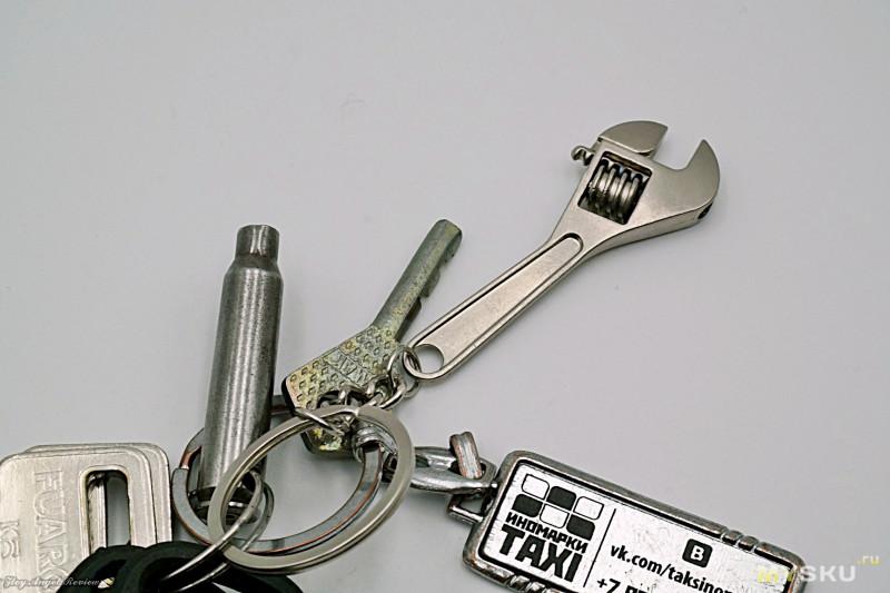 """Брелок """"Разводной ключ шведского типа"""""""