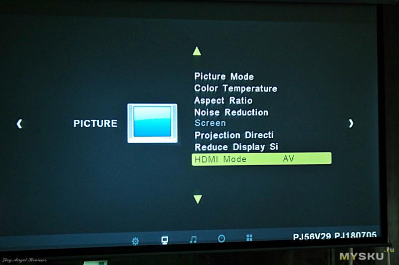 Проектор Alfawise X. Или мой домашний кинотеатр.