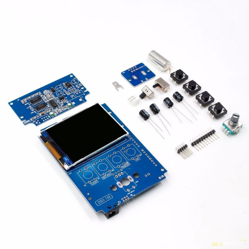 Осциллограф DSO 150 с новыми щупами P6020 в комплекте за 24,21$