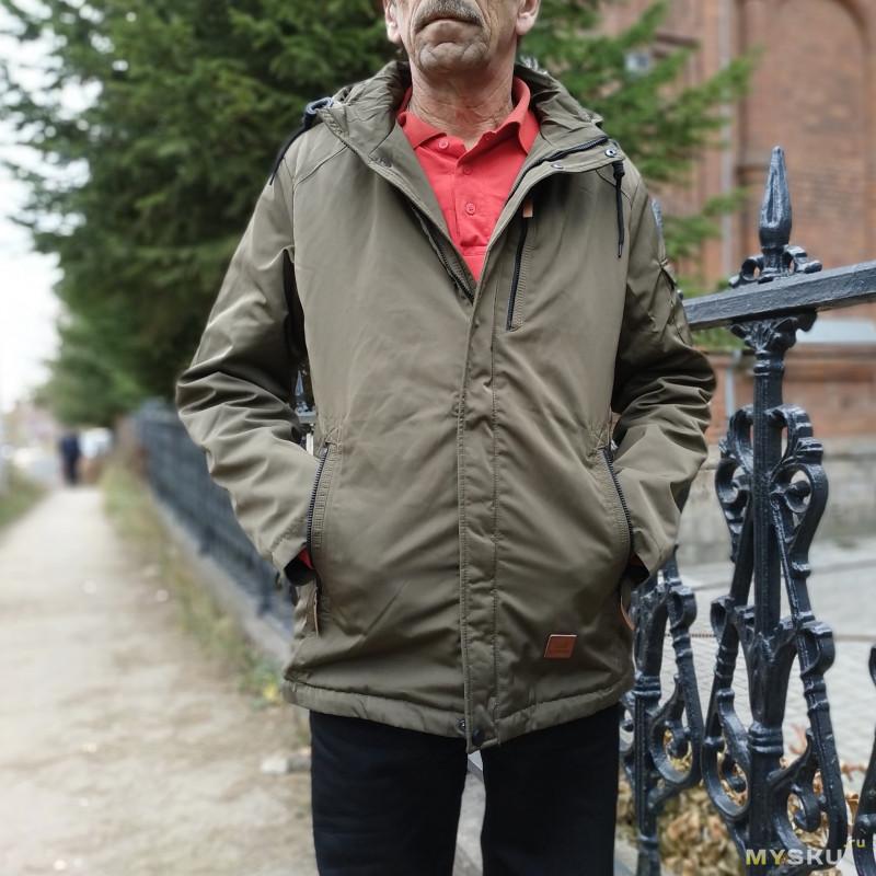 Скидка 50% при покупке 2-х осенних курток от бренда ICEBear. Последний день. Куртка вышла за 18,75$.