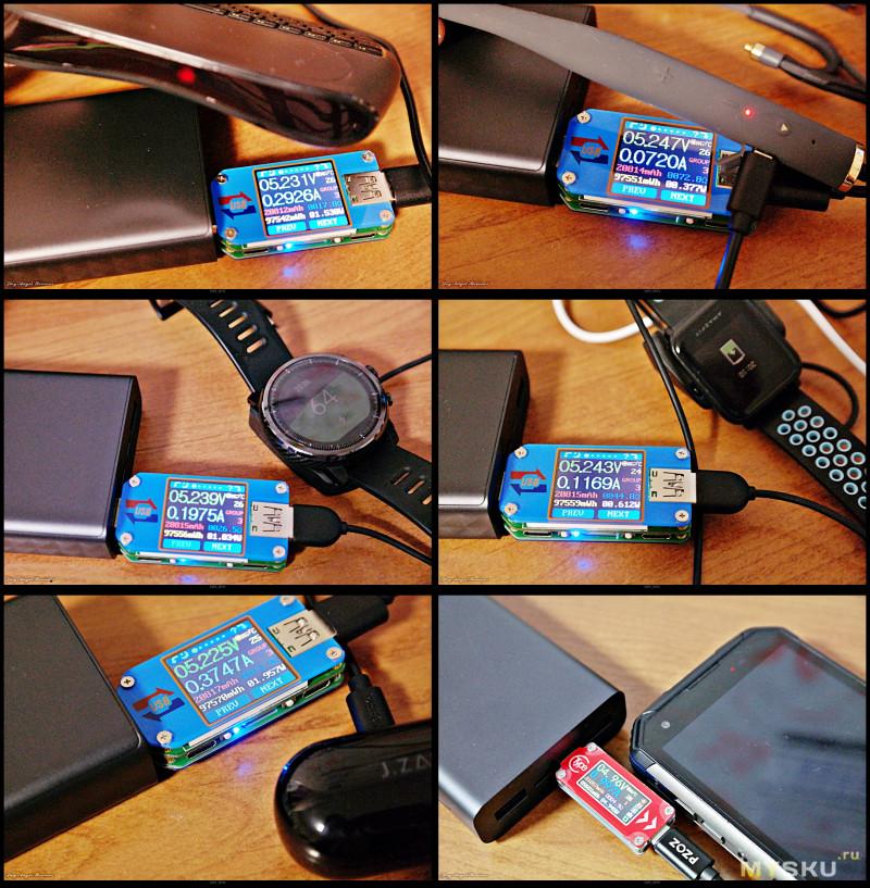 Повербанк Xiaomi ZMI QB822 на 20000мАч