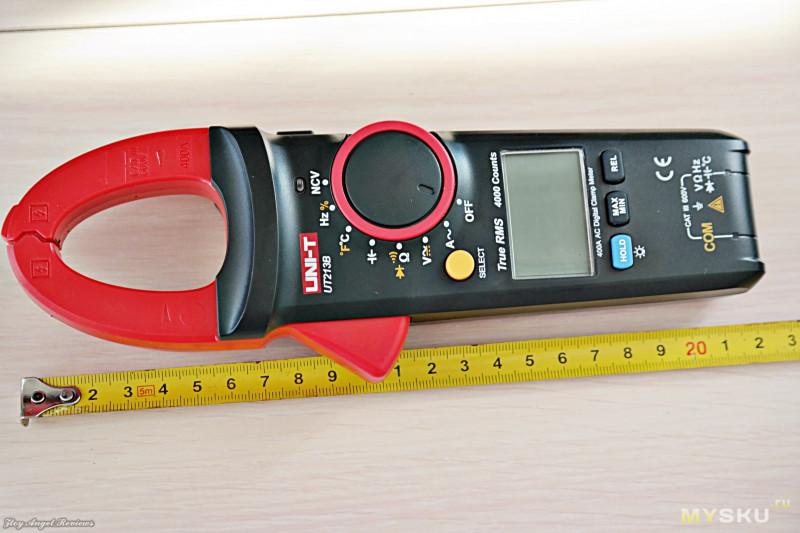 Мультиметр-клещи UNI-T UT213B. Сравнение измерений с именитыми Fluke