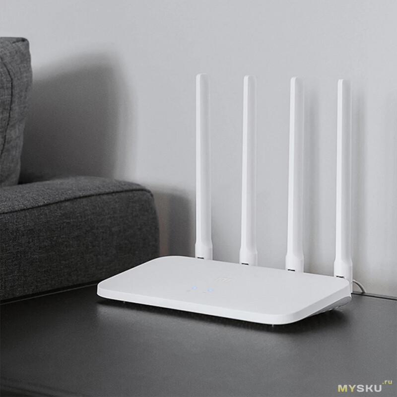 Роутер Xiaomi mi router 4 c за 14.66$