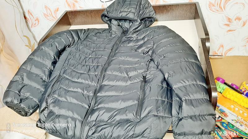 Зимняя куртка с подогревом от павербанка
