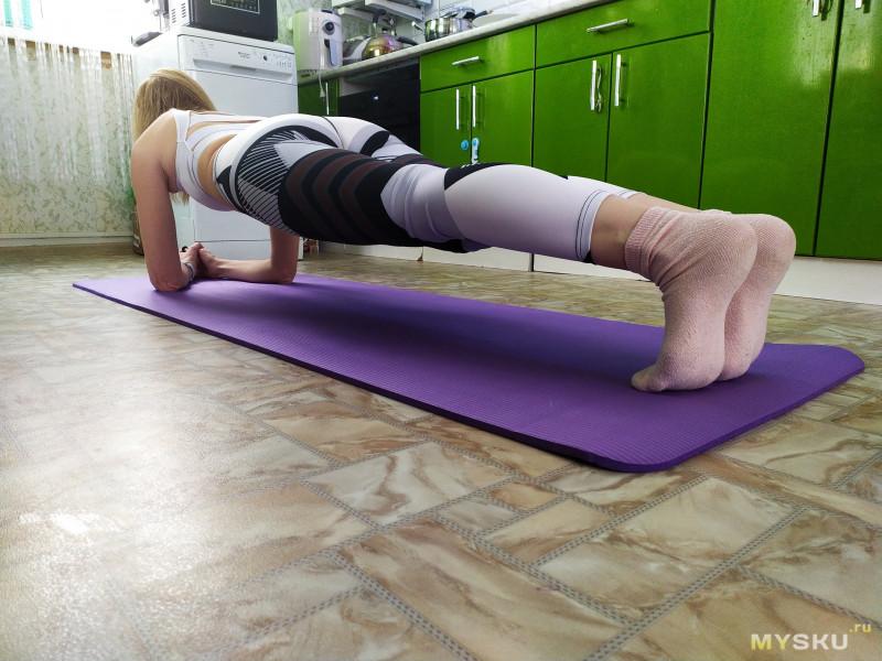 Мат для йоги. 183x61x1 см.