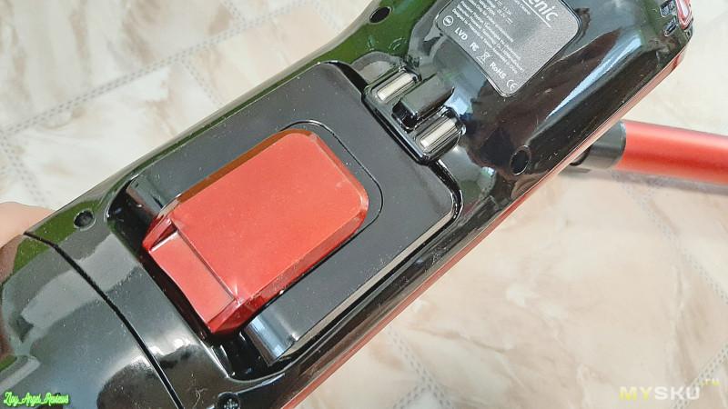 Ручной аккумуляторный пылесос  Proscenic I9 с мощностью всасывания 22KPa